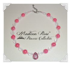 Princess Pendant Necklace from the Madison Rose by Irbella on Etsy