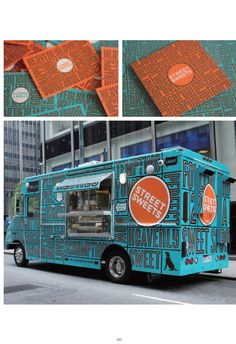 Food truck branding (cool looking truck)