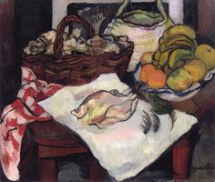 Still Life with Fruit and a Chicken - Suzanne Valadon - The Athenaeum