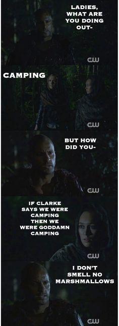 The 100 Recap    Season 2 episode 13 - Resurrection    Lincoln, Clarke and Lexa