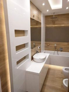 Bathroom Design Luxury, Modern Bathroom, Home Interior Design, Small Bathroom, Attic Bathroom, Bathroom Layout, Bathroom Colors, Küchen Design, Bathroom Renovations
