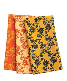 Take a look at this Arabella Kitchen Towels - Set of Nine by rockflowerpaper on #zulily today!