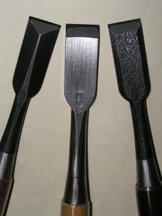 The beautiful chisels of Michio Tasai. These are on my bucket list!