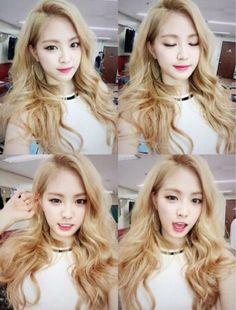 Naeun is absolutely beautiful ❤❤❤