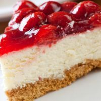 Stawberry Vanilla Cheesecake. Sounds like pure Heaven.