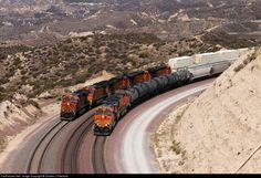 RailPictures.Net Photo: BNSF 7780 BNSF Railway GE ES44DC at Cajon Pass, California by Charles J Freericks