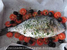 La cucina delle streghe: Orata alla mediterranea