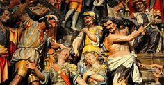 Santo de hoy - Emeterio y Celedonio, Santos Mártires - 3 de marzo  Martirologio Romano: En Calahorra, en la Hispania Tarraconense, santos Emeterio y Celedonio , los cuales, estando cumpliendo la milicia en los campamentos junto a León, en la provincia de Galicia, por confesar el nombre de Cristo al inicio de la persecución...    Liturgia Catolica, Oficio de Lecturas, Santoral diario, Evangelio diario meditado.