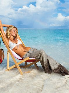 Chair idea  Candice Swanepoel Beach boudoir