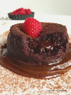 Paleo Molten Lava Cake!- well this is SO happening b/c J and I love Lava cakes. Valentines Day maybe?! Serve it up w/ some whipped coconut cream!