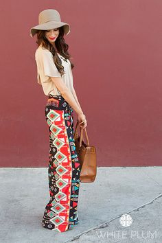 Indian Summer Palazzo Pants   going to have to buy these.