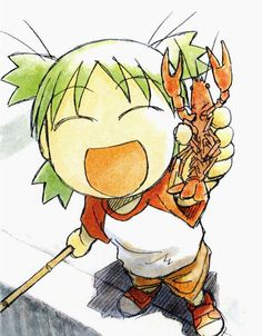 I love Yotsuba&! because it is sweet, clean, funny and beautifully drawn.