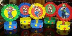 MuyAmeno.com: Fiestas Infantiles, Decoración Mario Bros, Centros de Mesa