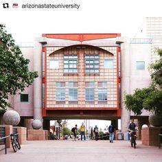 #Repost from @arizonastateuniversity Thanks for tagging us.  Starting to feel like fall  #azwx #asudesignschool #asu