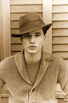 hat + shawl collar