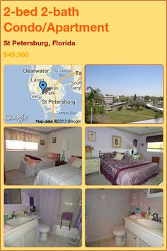 2-bed 2-bath Condo/Apartment in St Petersburg, Florida ►$49,900 #PropertyForSale #RealEstate #Florida http://florida-magic.com/properties/6783-condo-apartment-for-sale-in-st-petersburg-florida-with-2-bedroom-2-bathroom