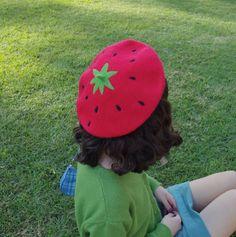 Kawaii Fashion, Lolita Fashion, Mode Kawaii, Cute Strawberry, Strawberry Kitchen, Cute Hats, Kawaii Clothes, Crochet Designs, Aesthetic Clothes