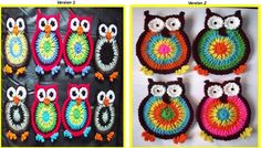 Hooty Owl Coasters  I am going to make these for a coaster swap I am a part of on IG...amazingly, it will be the first time I crochet an owl