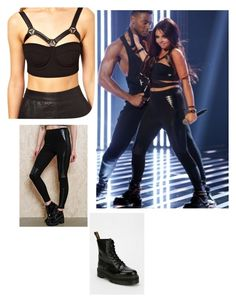 """""""jJesy Nelson"""" by hjjlllnp on Polyvore featuring ASOS, Evil Twin and Dr. Martens"""