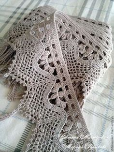 Perfect boarder for my blanket Crochet Boarders, Crochet Edging Patterns, Crochet Lace Edging, Basic Crochet Stitches, Doily Patterns, Thread Crochet, Crochet Designs, Crochet Doilies, Filet Crochet