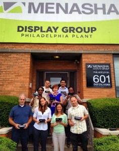 """""""We have fun as a group and we try to inspire others around the office by being 'cool' on Cool Choices."""" Menasha Corporation Cool Choices Team Philly member Ana Dias #teamwork #sustainability http://www.coolchoicesnetwork.org/menasha-corporation/"""