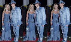 As we ALL KNOW, Britney Spears and Justin Timberlake created the best couples outfit to ever grace the red carpet.