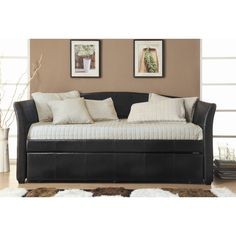 Give overnight guests a home away from home with this essential design, perfect in the den or guest suite.