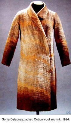 Sonia Delaunay jacket - 1924  good enough to wear