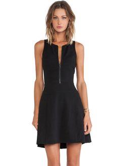 c9ec7ad4988 Buy Sleeveless Zipper Slim Dress from abaday.com