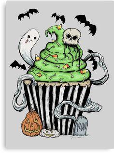 Gothic Cupcake by melancholymoon
