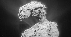 Focus.de - Raumsonde liefert neue Bilder: Forscher sind fasziniert: Rosetta findet sonderbare Hohlräume auf Komet Tschuri - Raumfahrt