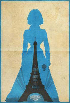 Elizabeth -Bioshock: Infinite Poster Art Print