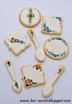 Painted cookies | Cookie Connection
