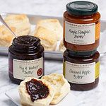 Recent discovery: fruit butters. Pear & fig are must-haves but these look AMAZING!
