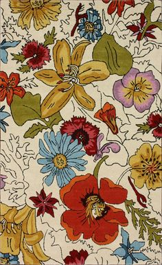 nuLOOM Vintage Bouquet Rug