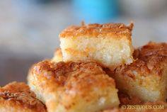 Bibingka - Filipino Coconut Cake by zestuous #Cake #Coconut #Philippines