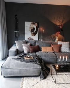 Great Decorating ideas for Living Room Cozy home decor, living room decoration ideas, modern interior design, modern home decor Home Decor Bedroom, Interior Design Living Room, Living Room Designs, Bedroom Apartment, Apartment Living, Apartment Design, Interior Livingroom, Apartment Kitchen, Bedroom Designs