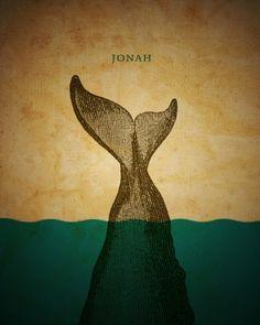 Word: Jonah Art Prints by Jim LePage - Shop Canvas and Framed Wall Art Prints at Imagekind.com