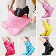 Wow this is genius! A super cute way to keep your shoes dry without having to take them off, perfect for heels!