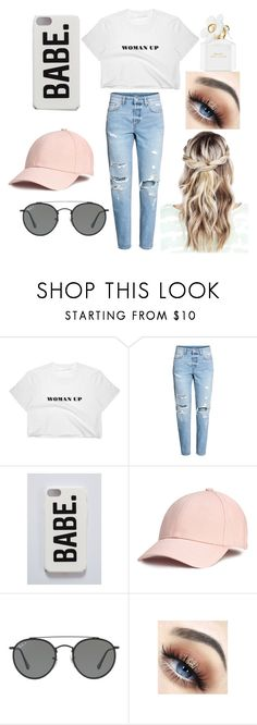 """Women Up"" by valeriehoffman ❤ liked on Polyvore featuring Ray-Ban and Marc Jacobs"
