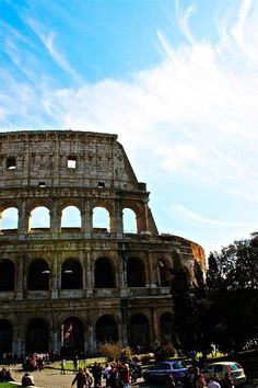 Roman Coliseum print on canvas by KennedyPhotographyCo on Etsy