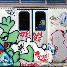 #besidecolors #graffiti #nyc #cartoon