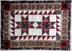 Kate Adams, IGMA fellow - Ohio Star Sawtooth quilt