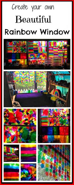Create a Beautiful Rainbow Window