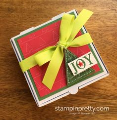 Stampin up christmas gift ideas on pinterest