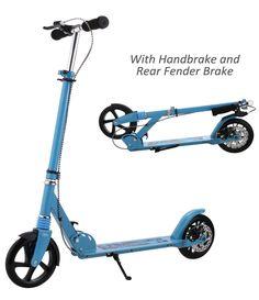 Halo Premium Aluminium Razor Type Scooter Helmet Knee /& Elbow Pad BLUE