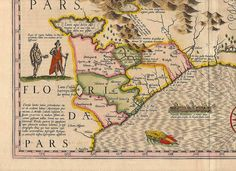 Pin by datagram one on old maps pinterest hondius southeas 7 antique world maps old world by mapsandposters gumiabroncs Gallery