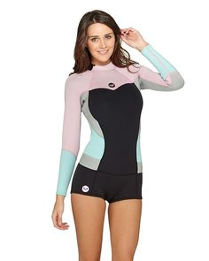 ROXY™ Ladies XY Collection 2 2mm Long Sleeve Springsuit Wetsuit 2aeee37a36e