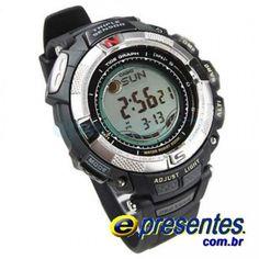 de24f2ae6c0 Casio Protrek PRG-130 1VDR Relogio com Triplo Sensor Esportes