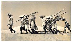 In the Dunes, 1945 - Yoshiyuki Iwase